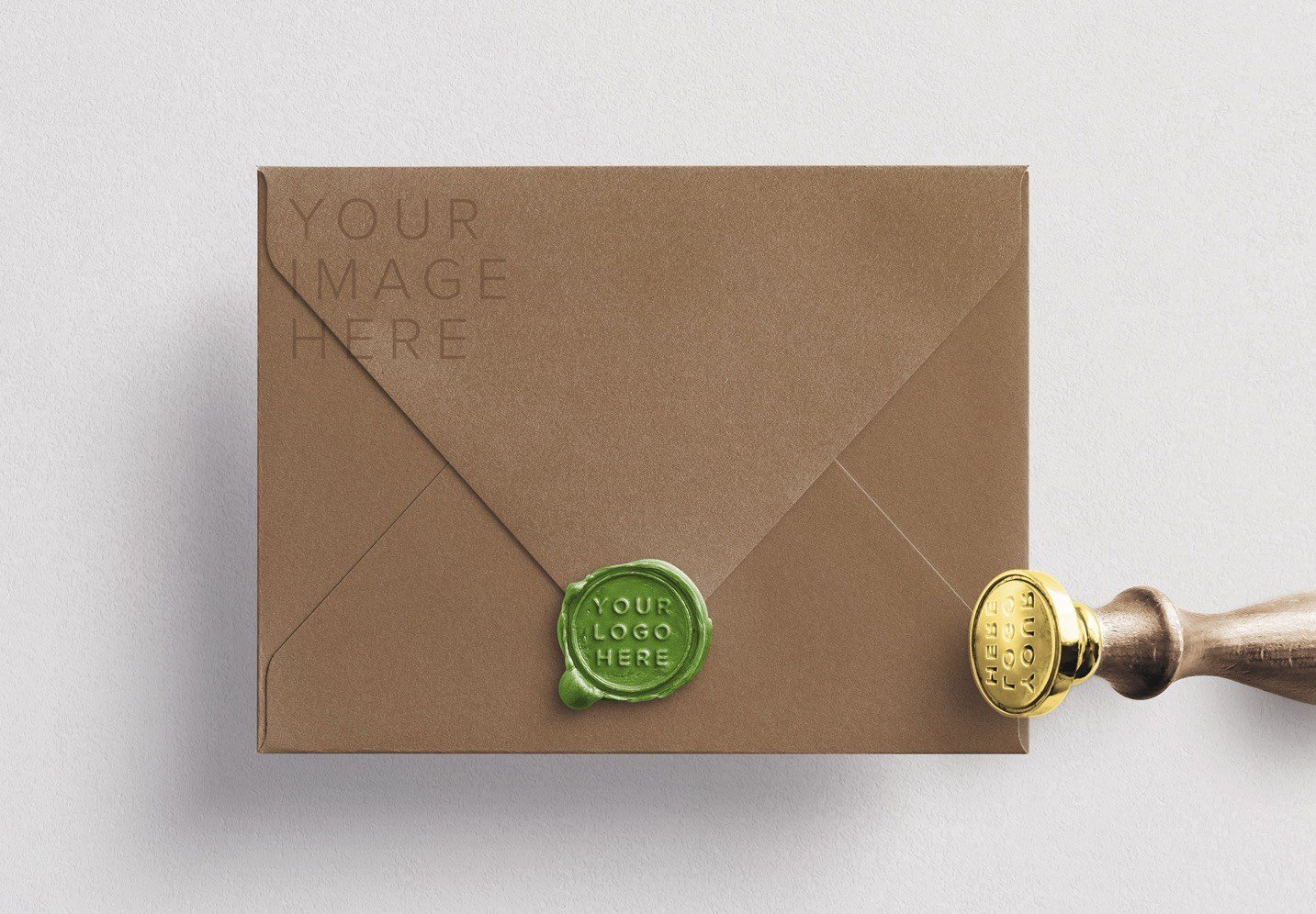 wax seal and stamp w envelope mockup image02