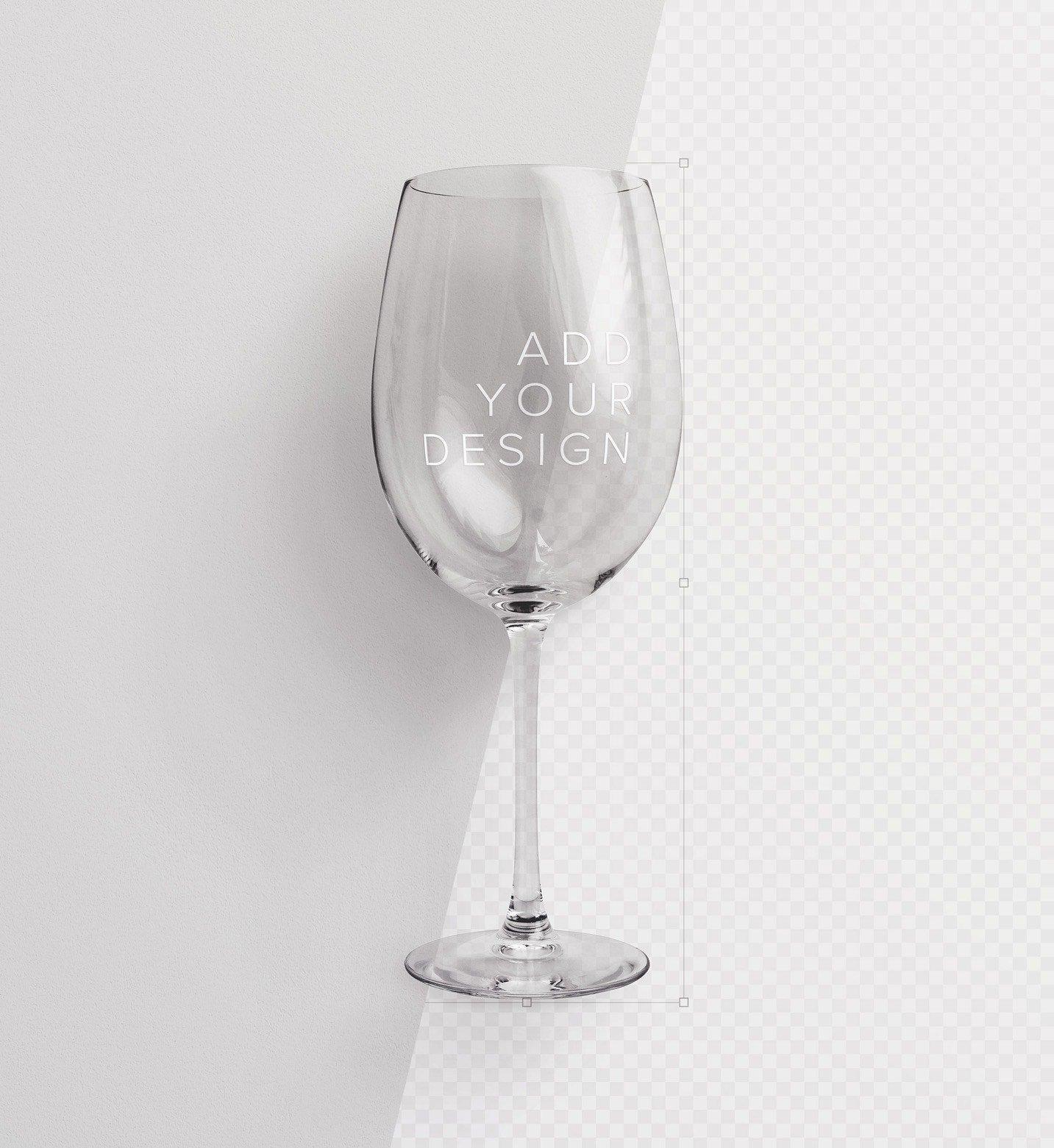 wine glass mockup image01