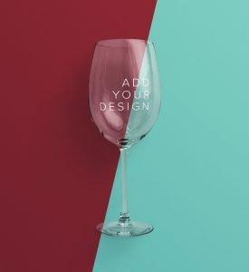 wine glass mockup image02