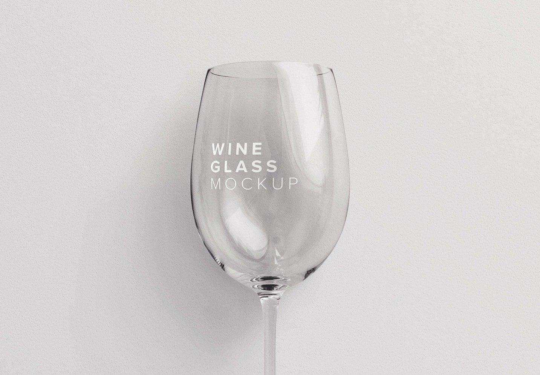 wine glass mockup thumbnail