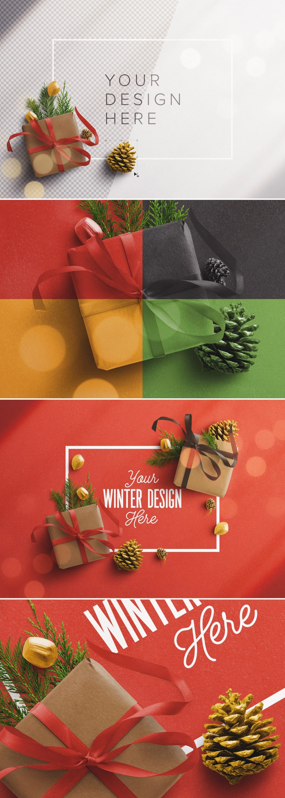 winter frame gift mockup preview1 1 scaled