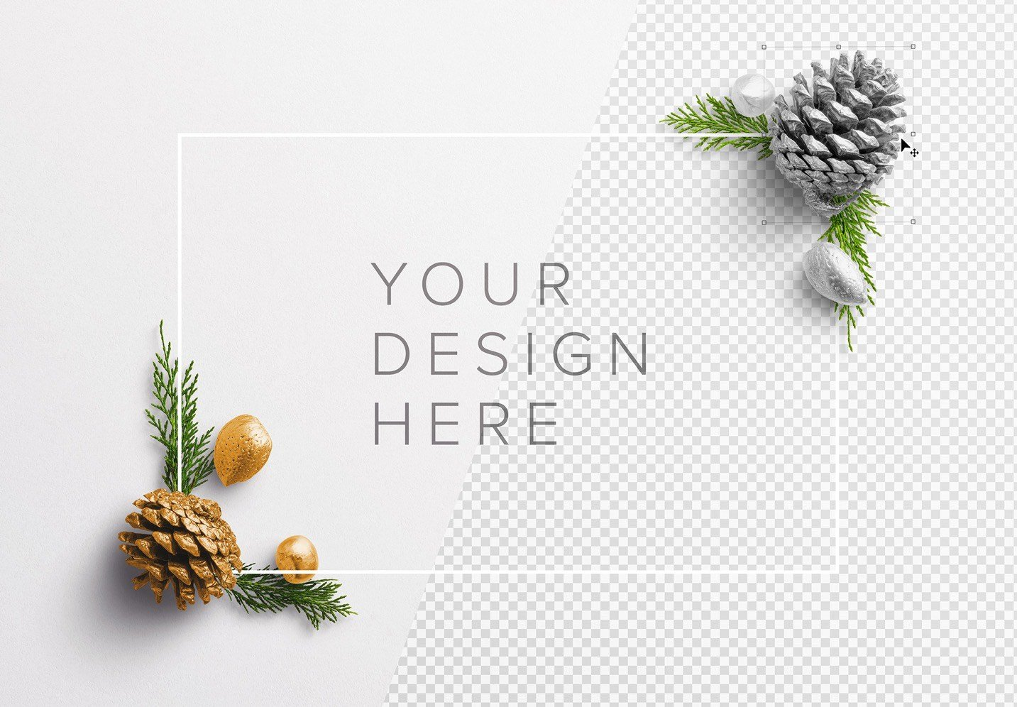 winter frame nature mockup 2 image01