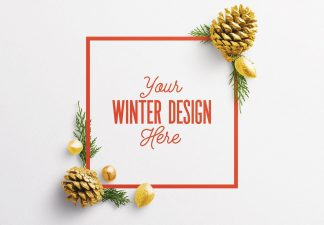 winter frame nature mockup 2 thumbnail