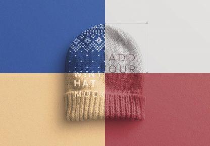 winter hat mockup image01
