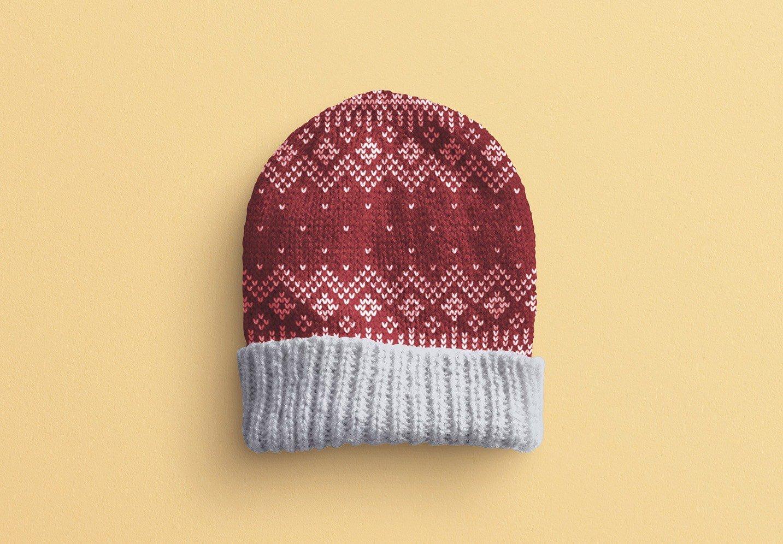 winter hat mockup image02