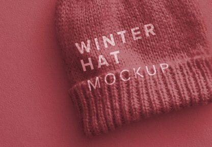 winter hat mockup image04