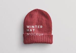winter hat mockup thumbnail