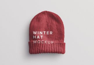 winter hat mockup thumbnail
