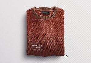 winter jumper mockup image01