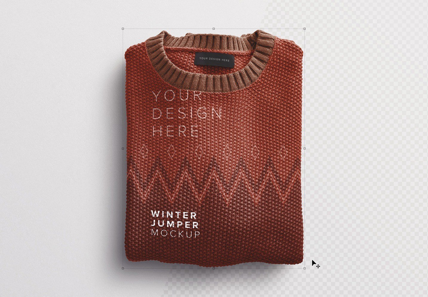winter jumper mockup image01