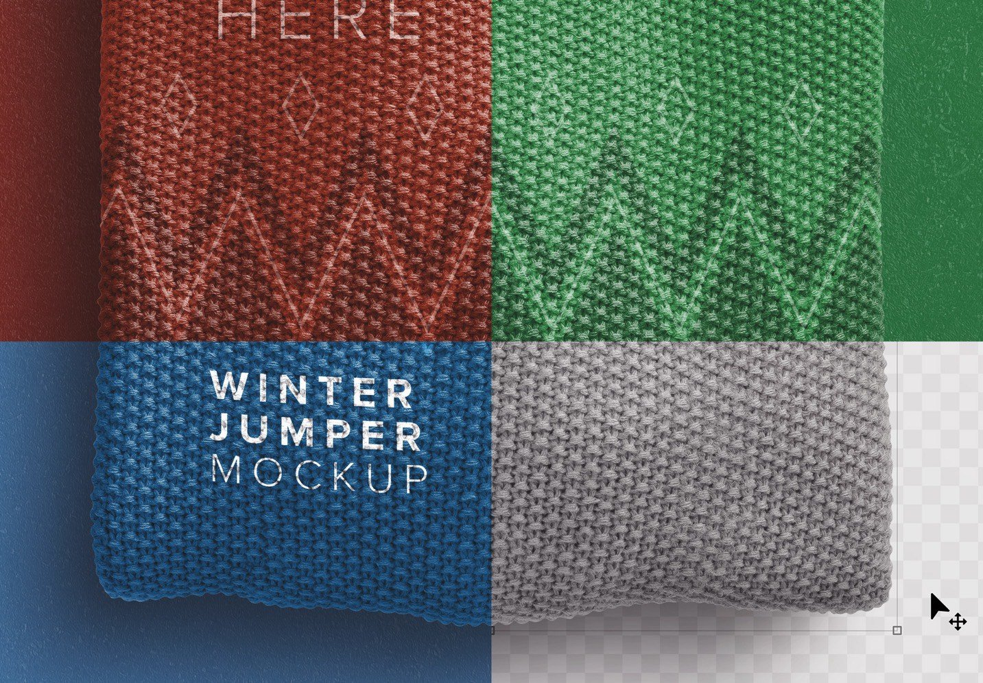 winter jumper mockup image02