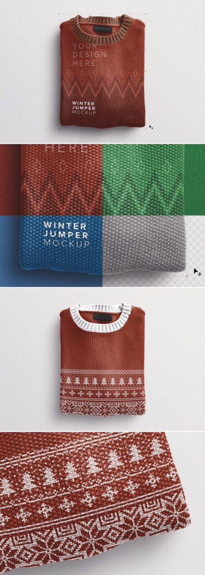 winter jumper mockup preview1 1 scaled