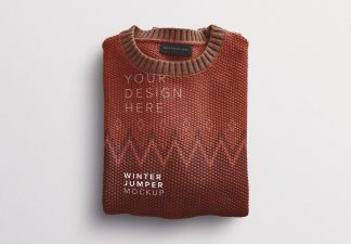 winter jumper mockup thumbnail