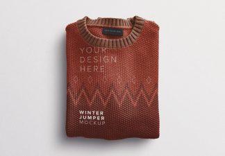 winter jumper mockup thumbnail