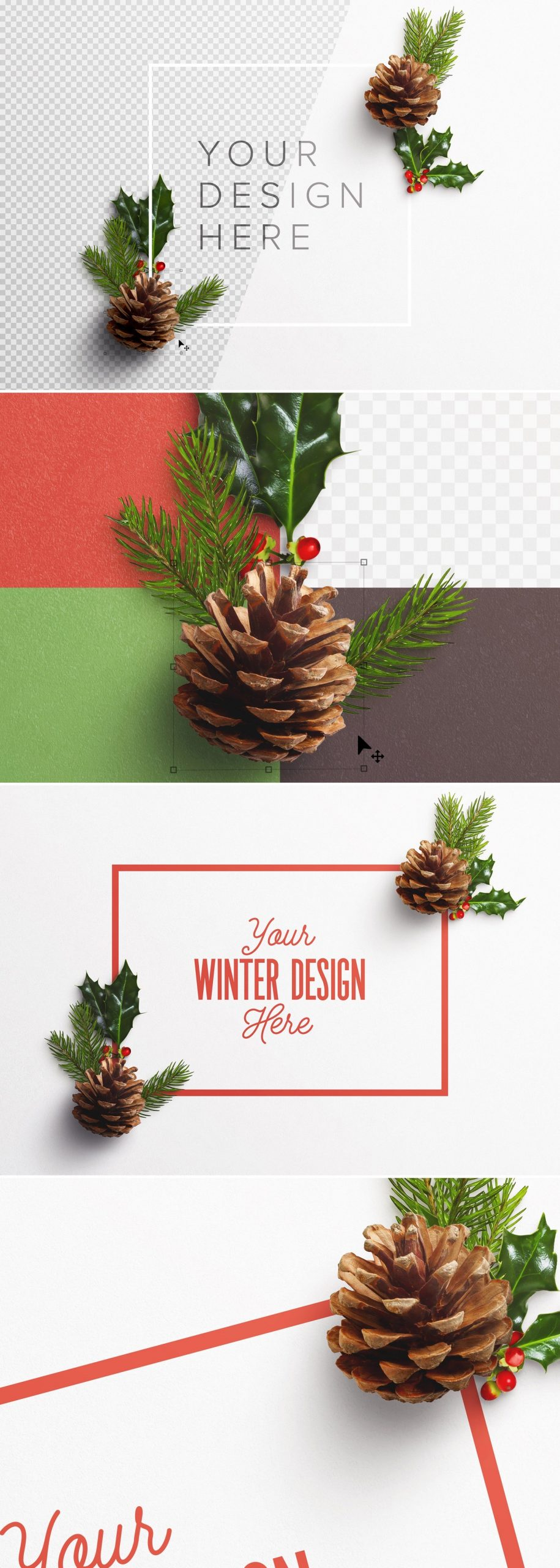 winter nature frame scene mockup preview1 1 scaled