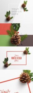 winter nature frame scene mockup preview1 scaled