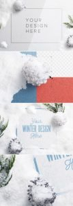 winter snow frame mockup 2 preview1 1 scaled