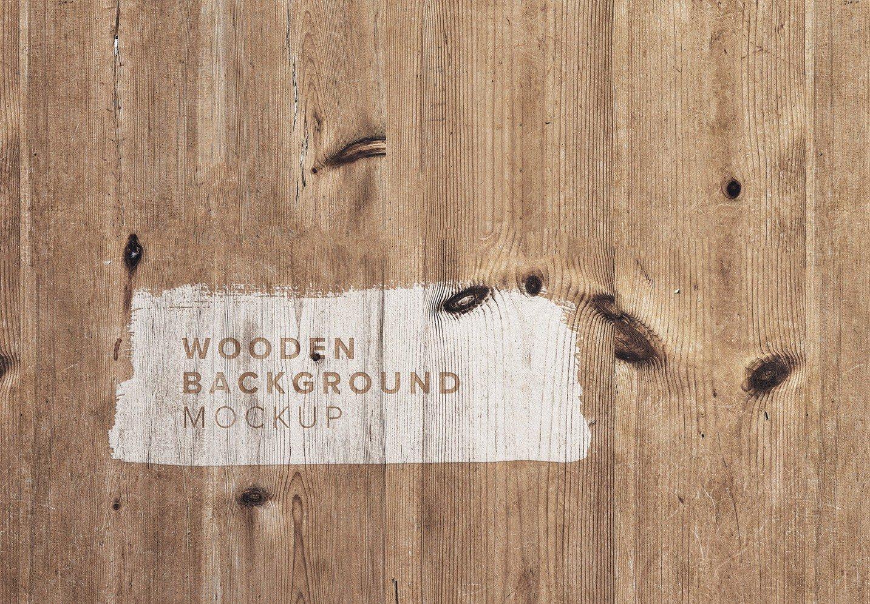 wooden background 2 mockup thumbnail