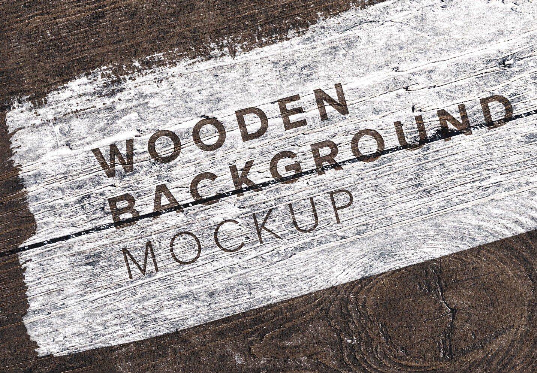 wooden background mockup image03
