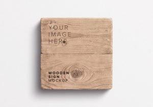 wooden sign mockup thumbnail