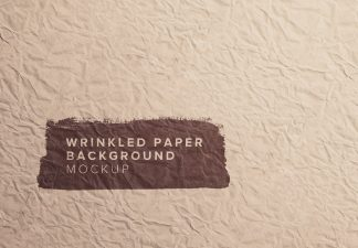 wrickled paper background thumbnail