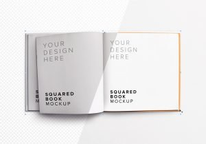 book squared opened left 2 page mockup image01