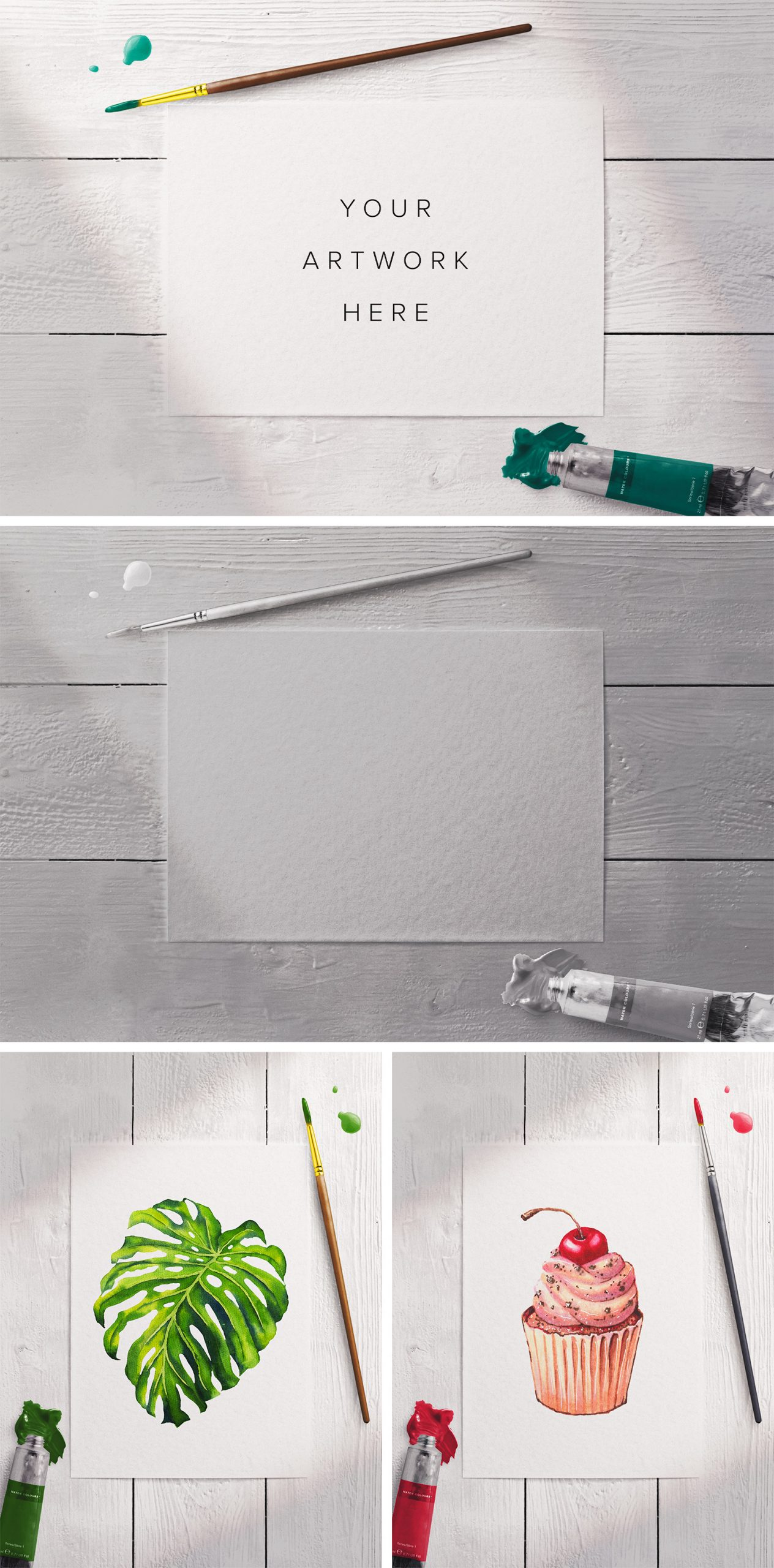 artistic watercolor scene free preview scaled