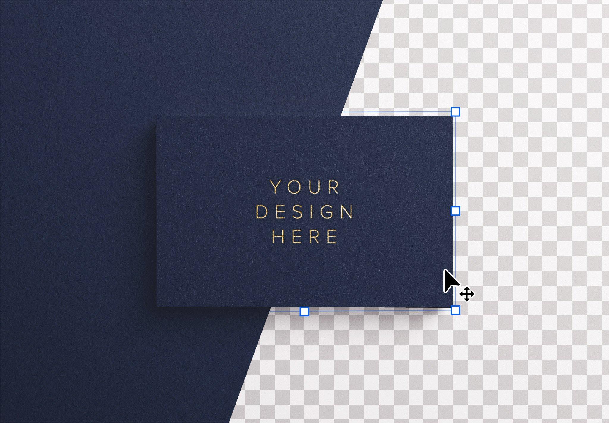 business card hot foil image01