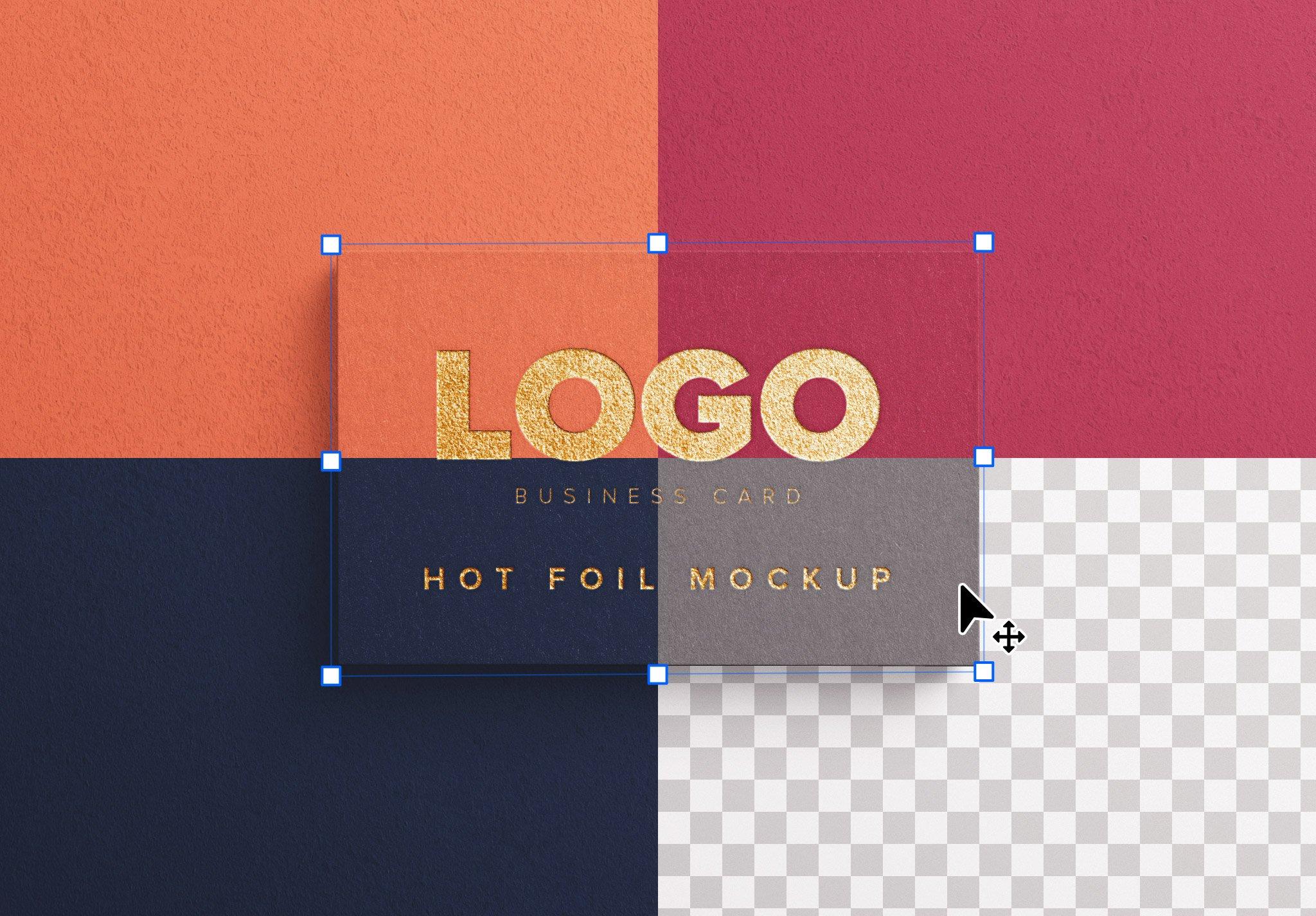 business card hot foil image02