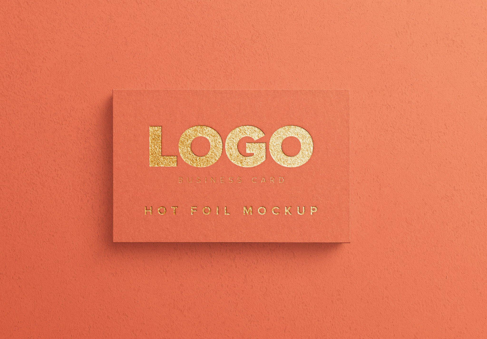 business card hot foil image03