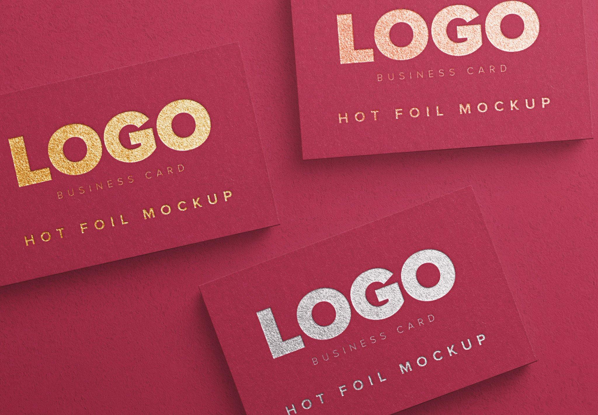 business card hot foil image04