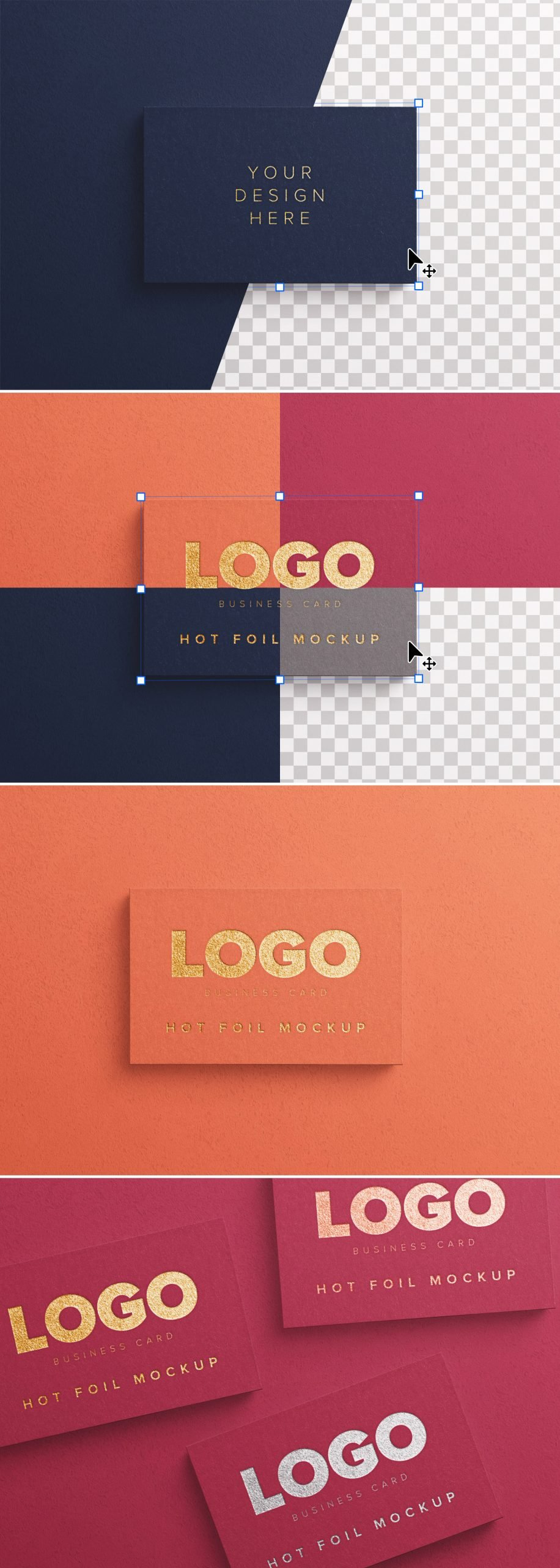 business card hot foil preview scaled