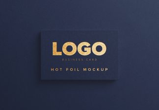 business card hot foil thumbnail 1