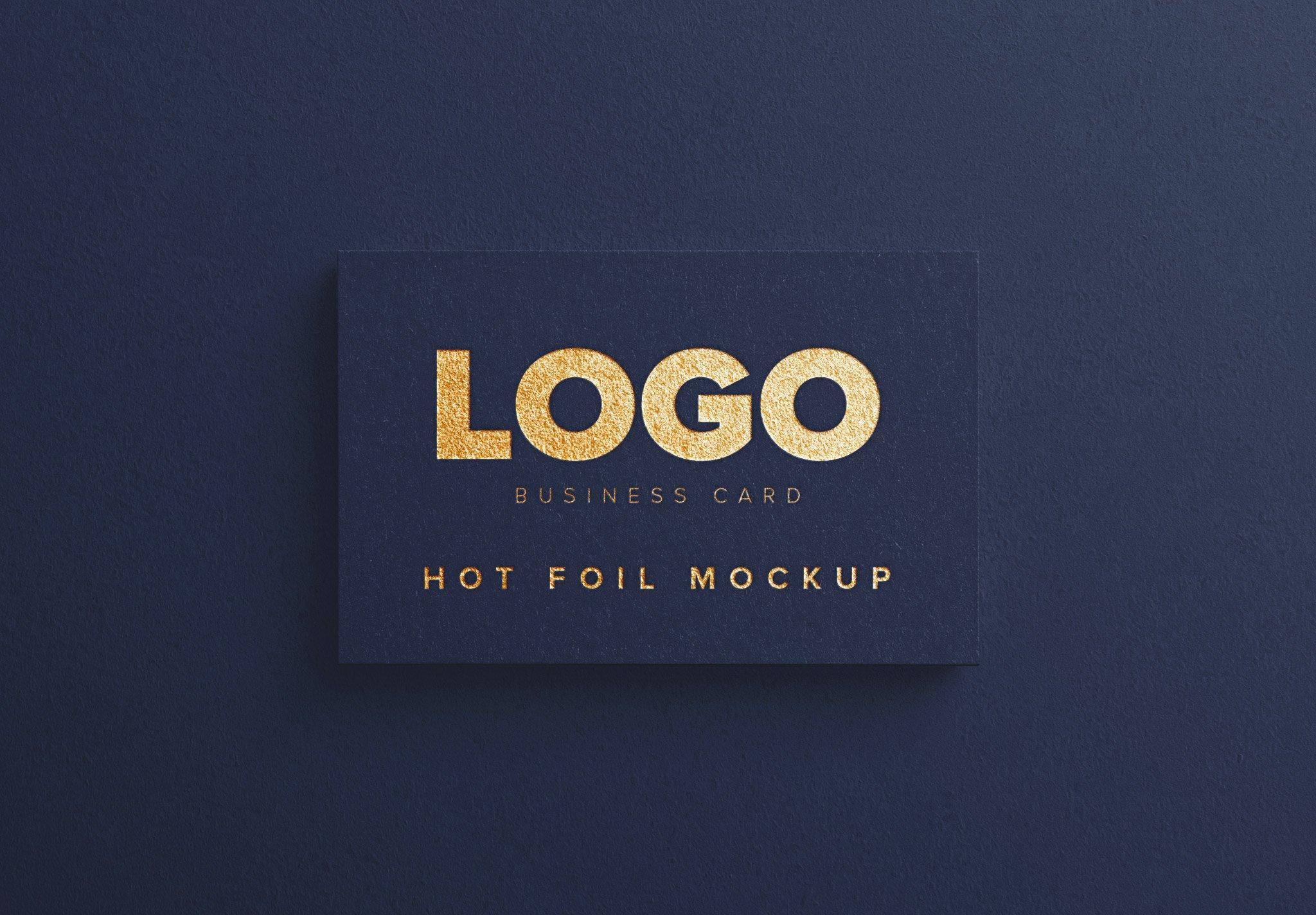 business card hot foil thumbnail 1