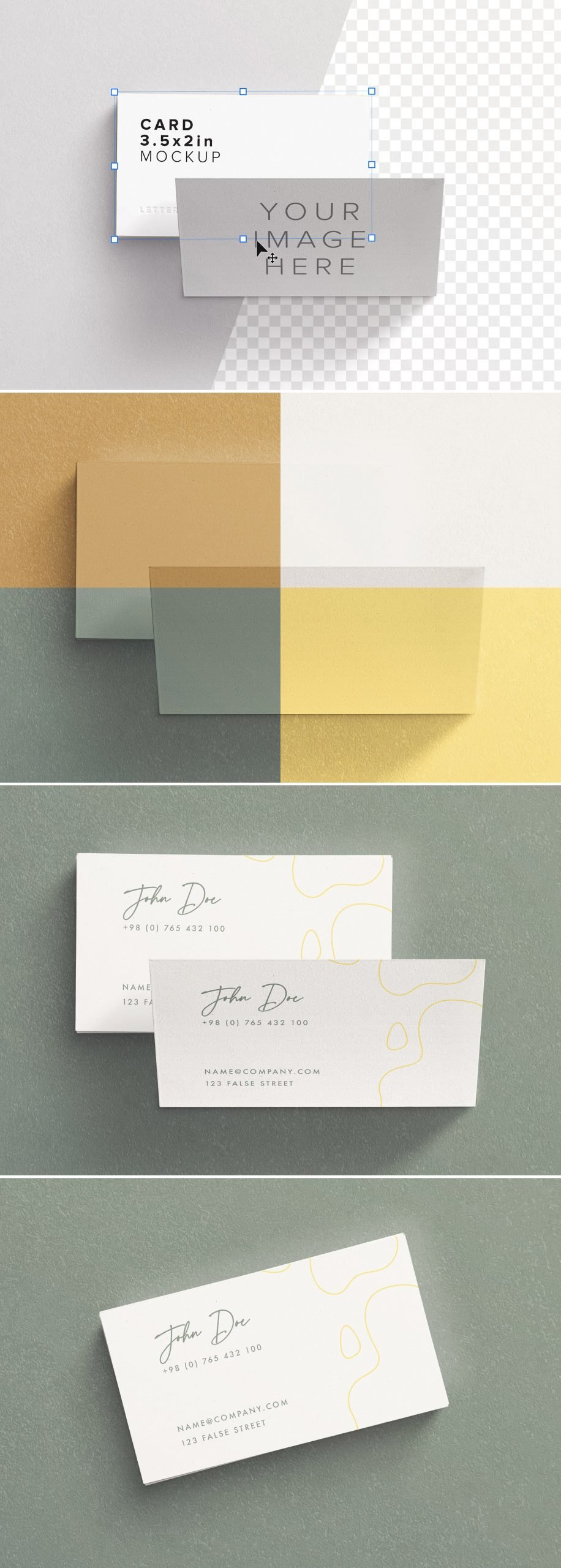 business cards layout 2 preview scaled