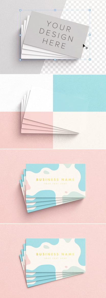 business cards layout 3 preview scaled