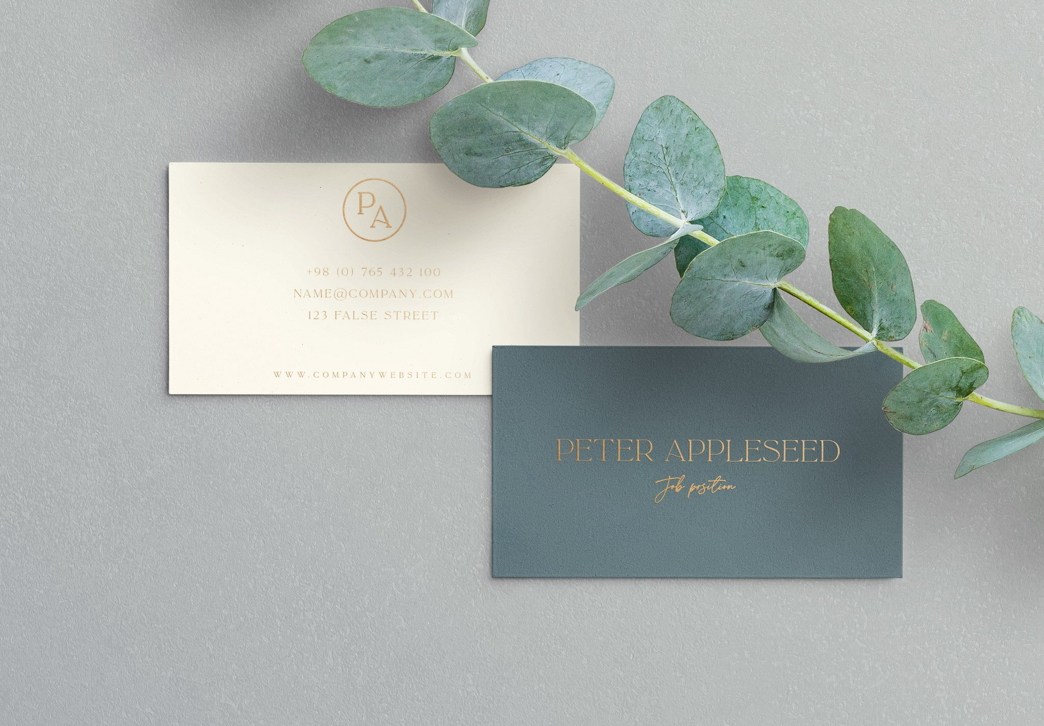 business cards layout 5 image04