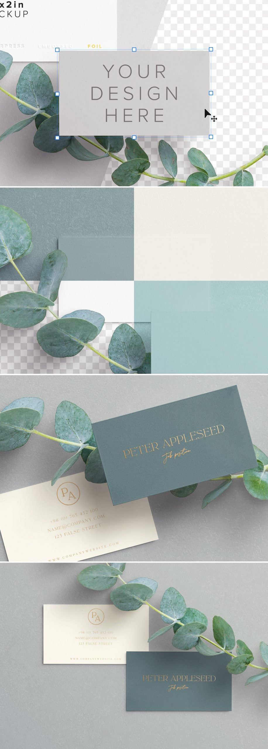 business cards layout 5 preview scaled