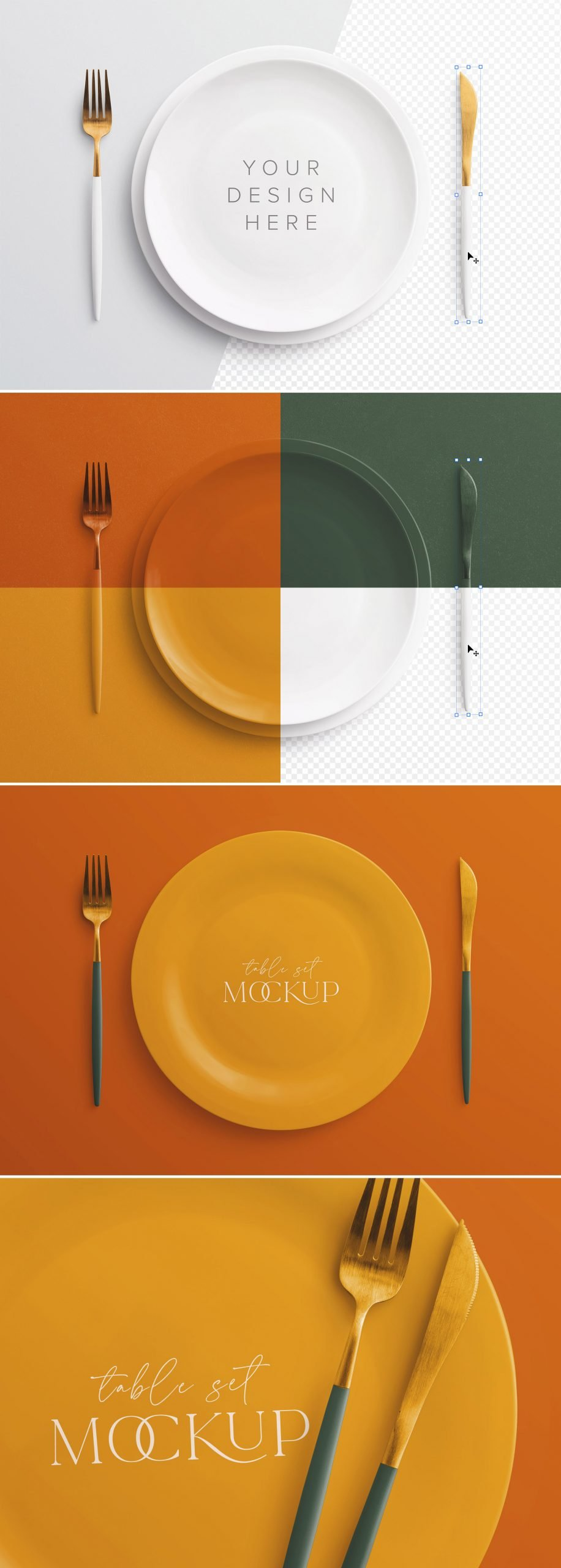table set mockup plate and cutlery preview scaled