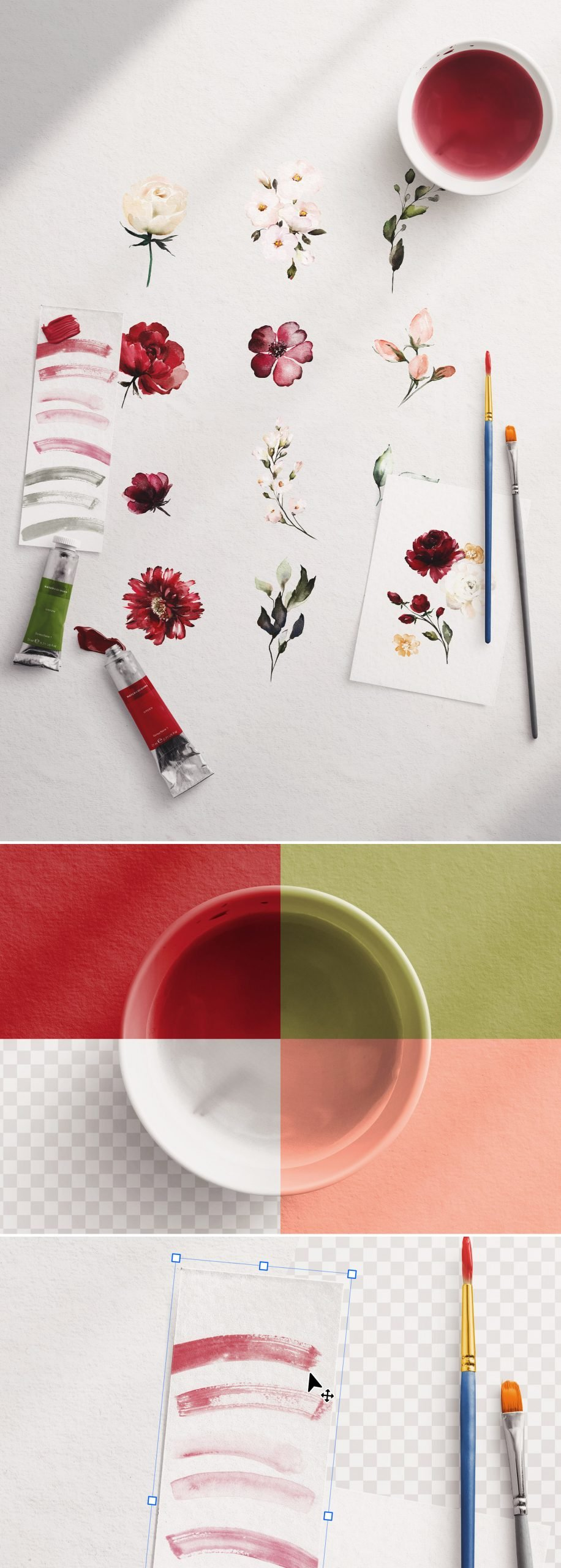 watercolor mockup scene creator 2 preview1 scaled