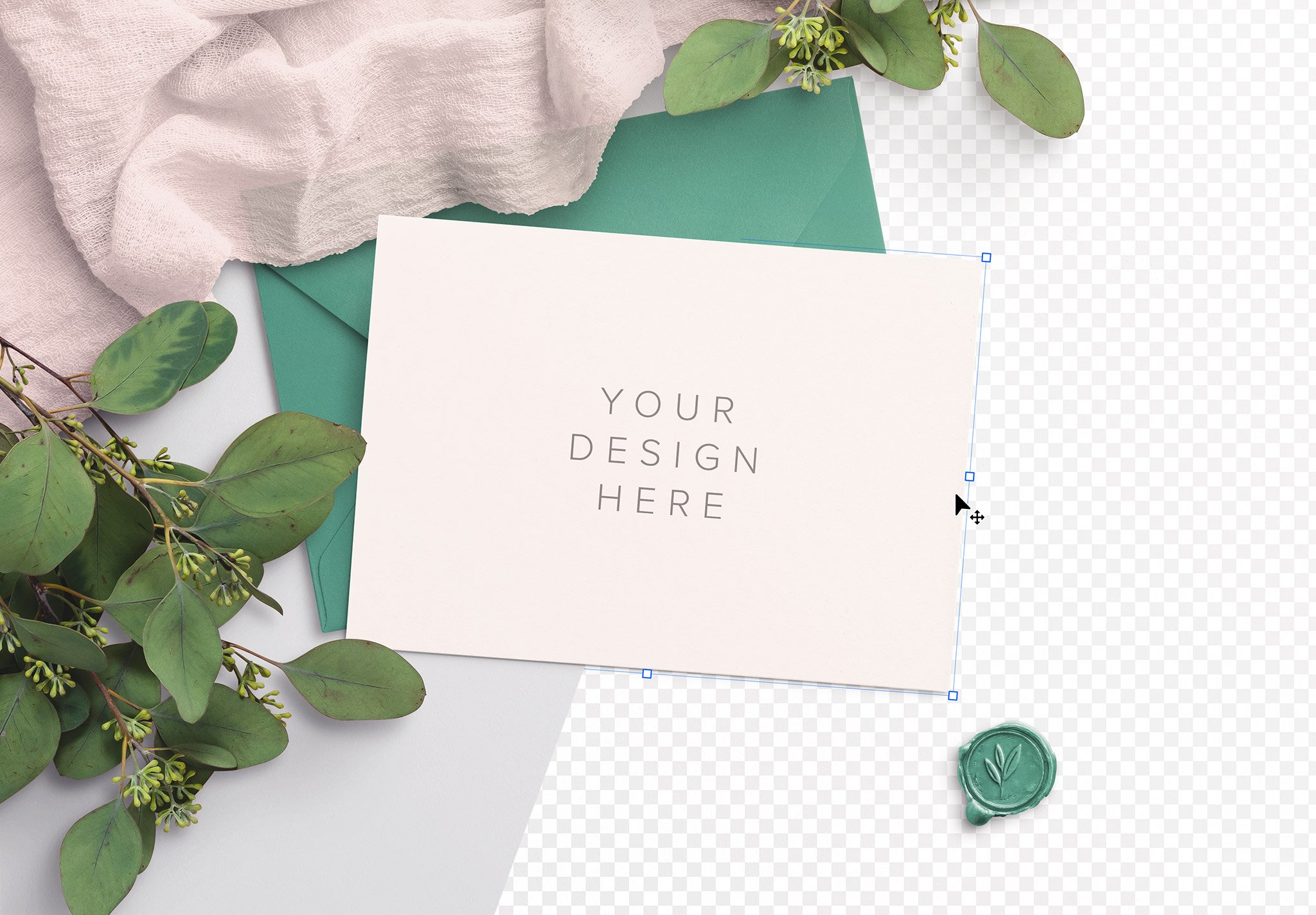 wedding invite mockup image01