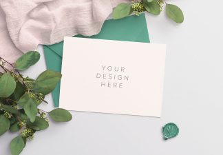 wedding invite mockup thumbnail