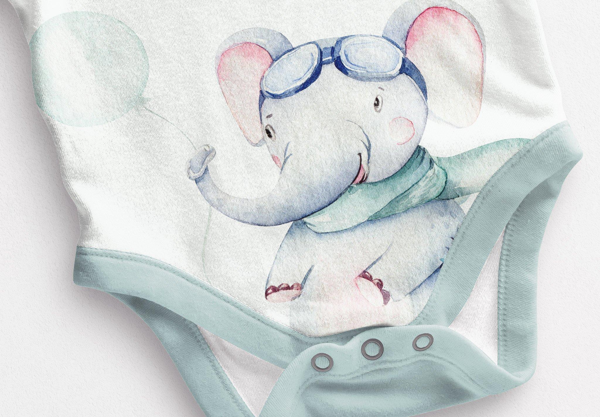 Baby Vest Long Sleeves Mockup Image04