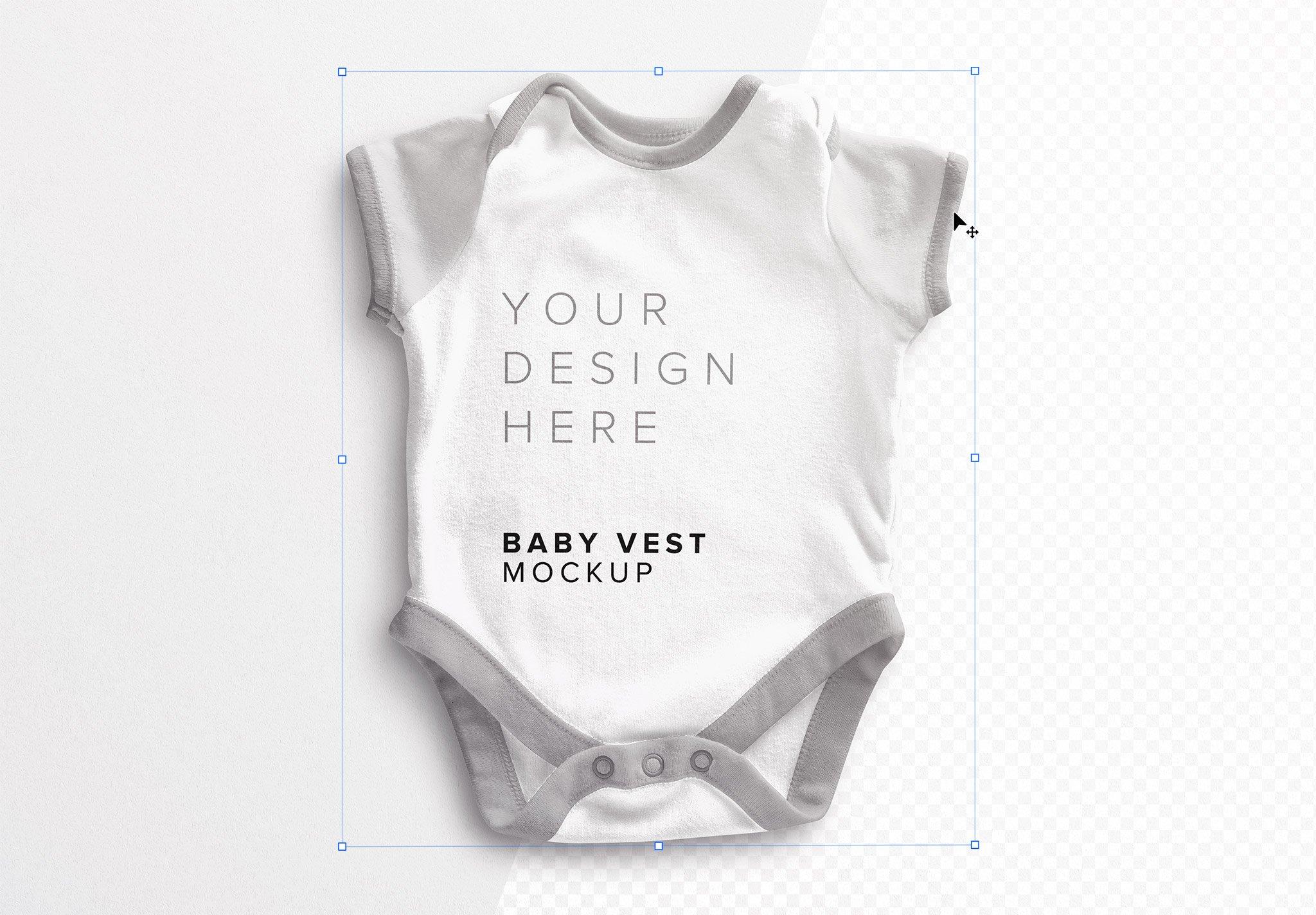 Baby Vest Mockup Image01