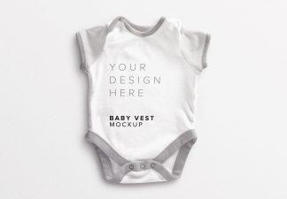 Baby Vest Mockup Thumbnail