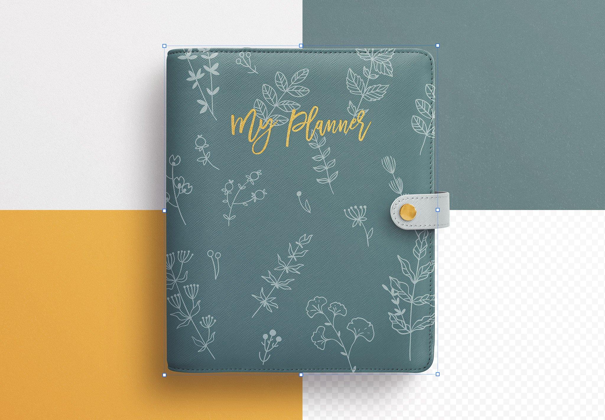 Planner Binder Front Cover Image02