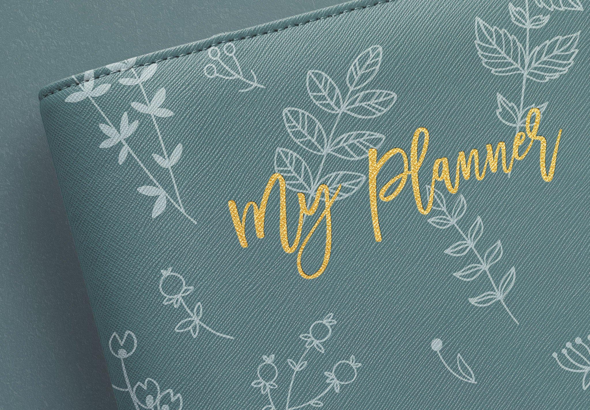 Planner Binder Front Cover Image04