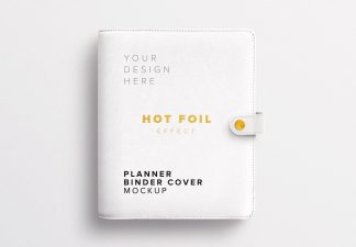 Planner Binder Front Cover Thumbnail
