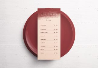 Table 4X9In Menu with Plates Thumbnail