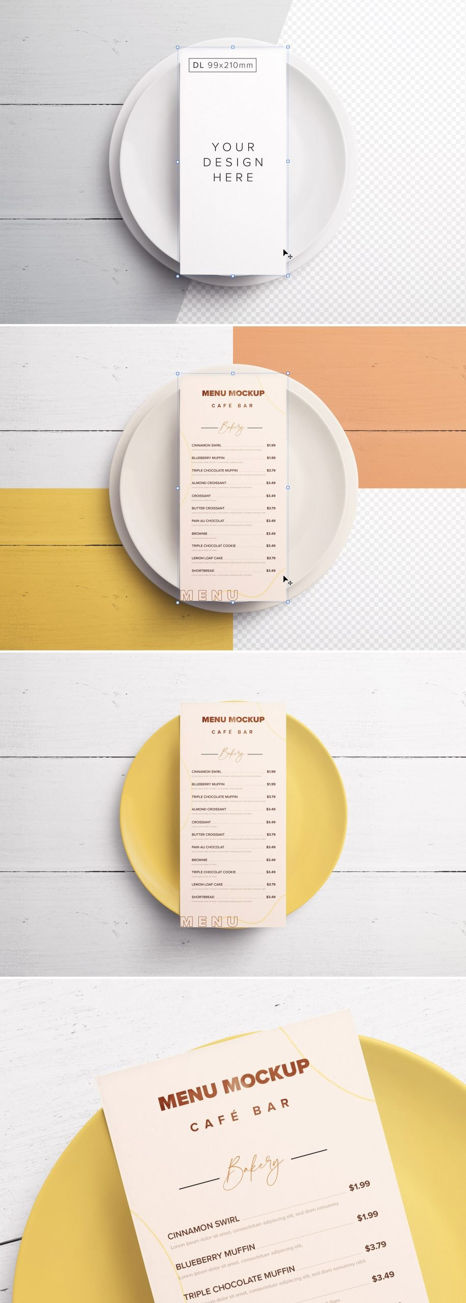 Table Dl Menu with Plates Preview scaled
